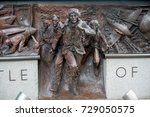 London, 28th September 2017:-Memorial to the Battle of Britain pilots from Fighter Command of World War 2 - stock photo