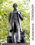 Small photo of London, 28th September 2017:-Statue of President Abraham Lincoln in Parliment Square