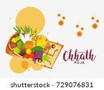 illustration greeting card... | Shutterstock .eps vector #729076831