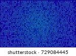 binary programming code digital ...   Shutterstock .eps vector #729084445