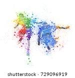 running | Shutterstock . vector #729096919