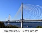 the new queensferry crossing... | Shutterstock . vector #729112459