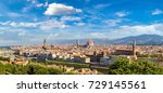 panoramic view of cathedral... | Shutterstock . vector #729145561