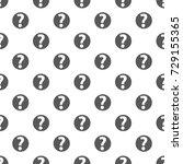question mark sign pattern... | Shutterstock .eps vector #729155365