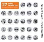 shoes properties symbols. these ...   Shutterstock .eps vector #729157525
