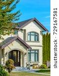 a perfect neighborhood. houses... | Shutterstock . vector #729167581