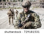 Team Squad Of Special Forces I...