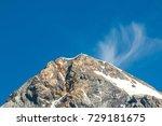 gran zebru mountain in the... | Shutterstock . vector #729181675