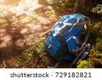 lifestyle hiking modern... | Shutterstock . vector #729182821