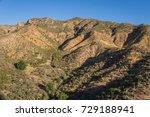 Desert Ravines In The Hills...