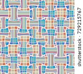 abstract color seamless pattern ... | Shutterstock .eps vector #729215767