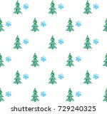vector illustration of seamless ... | Shutterstock .eps vector #729240325