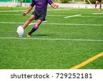 rugby game | Shutterstock . vector #729252181