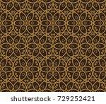 modern stylish texture.... | Shutterstock . vector #729252421