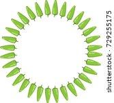 chili icon vector | Shutterstock .eps vector #729255175