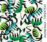creative universal floral... | Shutterstock .eps vector #729257515
