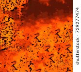 orange grunge background   Shutterstock . vector #729277474