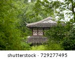traditional chinese house in... | Shutterstock . vector #729277495