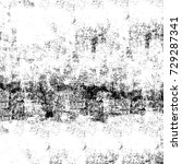 grunge texture black and white. ... | Shutterstock . vector #729287341