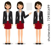 female worker | Shutterstock .eps vector #729301699