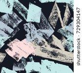 abstract vector creative... | Shutterstock .eps vector #729304147