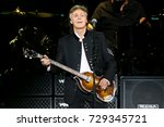 uniondale  ny sep 27  singer... | Shutterstock . vector #729345721