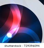abstract digital technology... | Shutterstock .eps vector #729396094