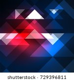 cosmic electric background with ... | Shutterstock .eps vector #729396811