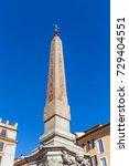 the macuteo obelisk of the... | Shutterstock . vector #729404551