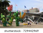 lille  france   may 29  2017 ... | Shutterstock . vector #729442969