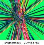 an abstract pattern of... | Shutterstock . vector #729465751