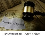 Freedom Of Speech Message On...