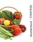 fresh vegetables   Shutterstock . vector #72947920