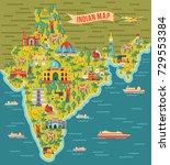 india map. vector illustration   Shutterstock .eps vector #729553384