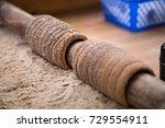 traditional czech christmas... | Shutterstock . vector #729554911