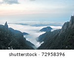 the cloud and mist of... | Shutterstock . vector #72958396