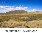 peru highlands  | Shutterstock . vector #729590287
