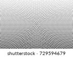 abstract futuristic halftone... | Shutterstock .eps vector #729594679