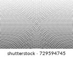 abstract futuristic halftone... | Shutterstock .eps vector #729594745