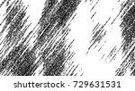 black and white grunge pattern... | Shutterstock . vector #729631531