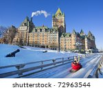 Quebec City In Winter ...
