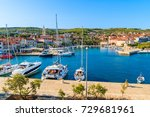 View Of Supetar Port With...