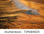 water waves in the sea | Shutterstock . vector #729684025