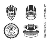 set of vector logotypes... | Shutterstock .eps vector #729688219