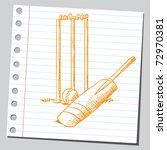 sketchy illustration of a... | Shutterstock .eps vector #72970381