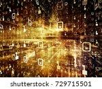 digital city series. backdrop...   Shutterstock . vector #729715501
