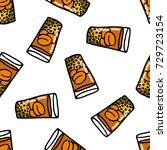 doodle icon. mote con huesillo. ... | Shutterstock .eps vector #729723154