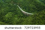 an aerial view of  road or... | Shutterstock . vector #729723955