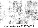 black and white grunge urban...   Shutterstock . vector #729734659