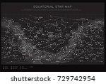 high detailed sky maps vector... | Shutterstock .eps vector #729742954